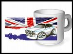 Koolart CLASSIC BRITISH Design For Retro Mk2 Escort Mexico - Ceramic Tea Or Coffee Mug